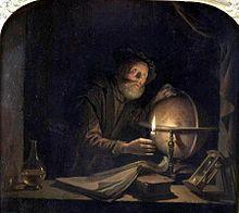 Astronomer Gerrit Dou 1650
