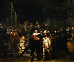 The Night Watch Rembrandt 1642